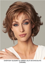 Everyday Elegant Synthetic Lace Front Wig (Mono Part)