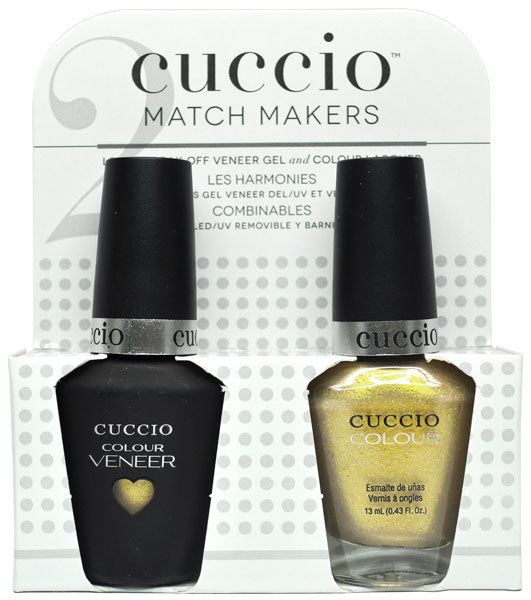 Cuccio Colour & Veneer Match Maker Set- Everything Matters - 13ML EA