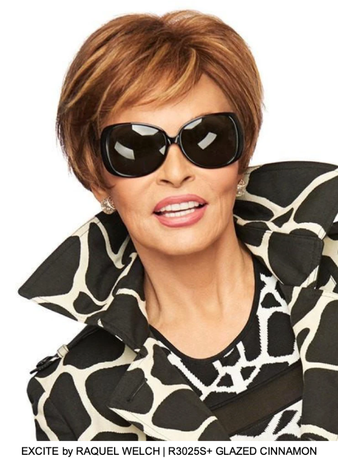 EXCITE by RAQUEL WELCH | R3025S+ GLAZED CINNAMON