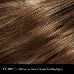 FS10/16 WALNUT SYRUP | Light Brown with Ash Blonde Highlights