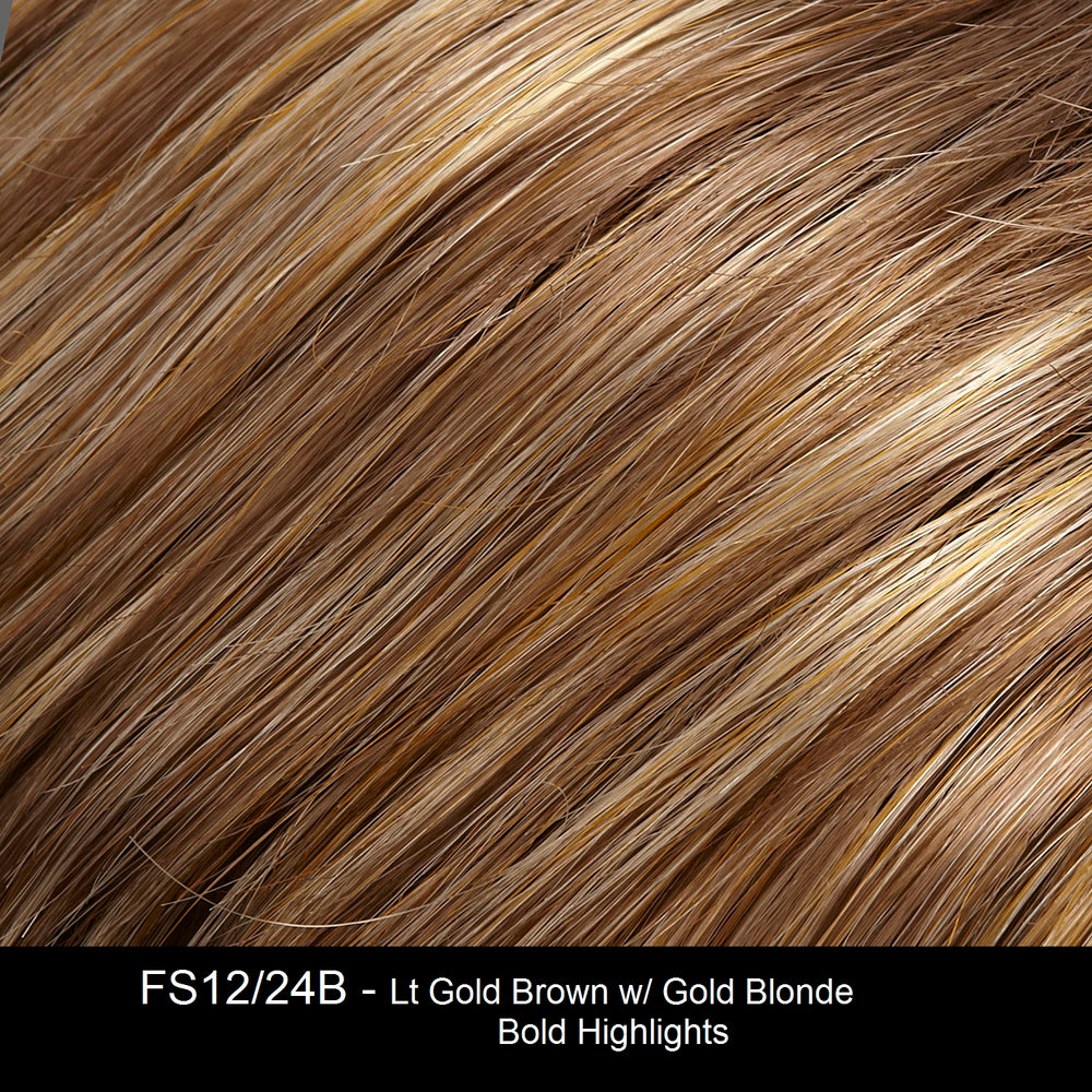FS12/24B CINNAMON SYRUP | Golden Brown with Honey Blonde Highlights
