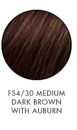 FS4/30 Medium Dark Brown with Auburn Sheri Shepherd NOW