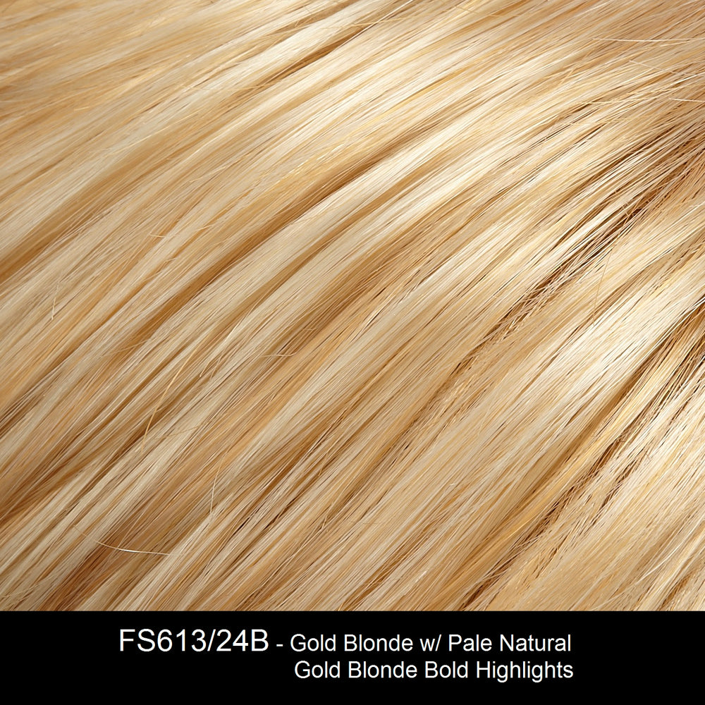 FS613/24B - Gold Blonde w/ Pale Natural Gold Blonde Bold Highlights