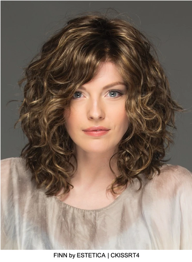 Finn Synthetic Lace Front Wig
