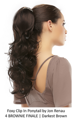 Foxy Synthetic Clip-In Ponytail