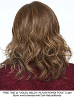 FREE TIME by RAQUEL WELCH | RL12/16 HONEY TOAST | Light Brown evenly blended with Dark Natural Blonde