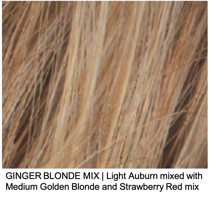 GINGER BLONDE MIX | Light Auburn mixed with Medium Golden Blonde and Strawberry Red mix