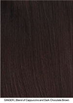 GINGER | Blend of Cappuccino and Dark Chocolate Brown