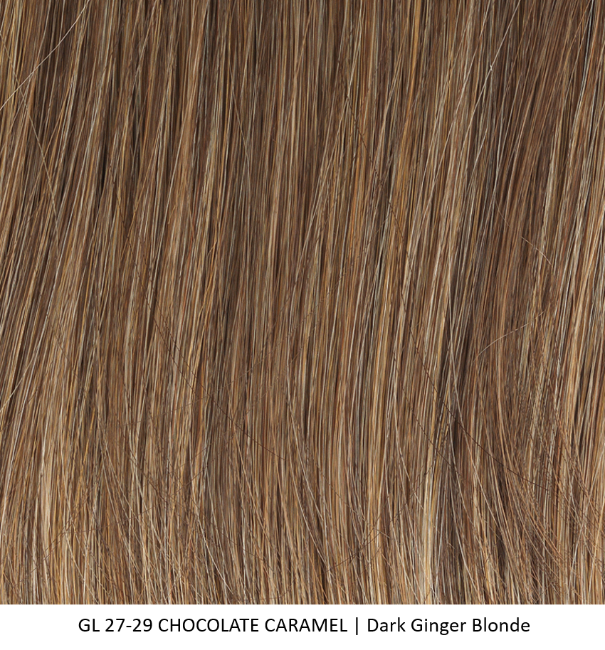 GL27-29 CHOCOLATE CARAMEL | Dark Ginger Blonde