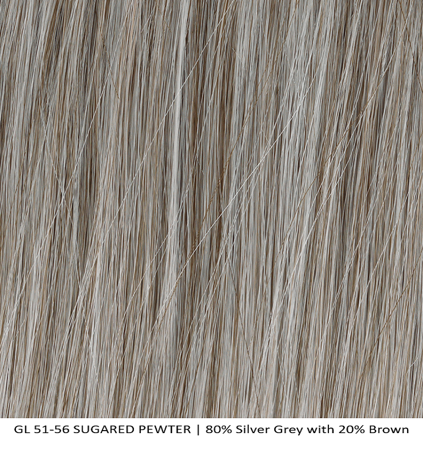 GL 51-56 SUGARED PEWTER | 80% Silver Grey with 20% Brown