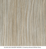 GL60-101 SILVERY MOON | Creamy almost White Grey