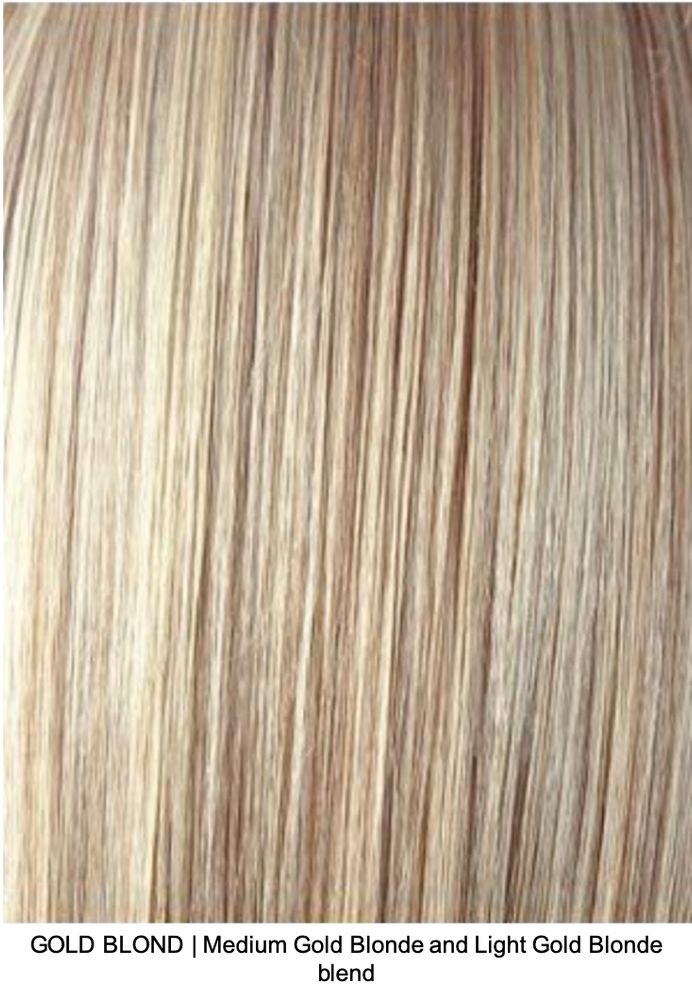 GOLD BLOND | Medium Gold Blonde and Light Gold Blonde blend