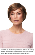 Gabrielle Synthetic Lace Front Wig