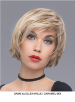 Game Synthetic Lace Front Wig