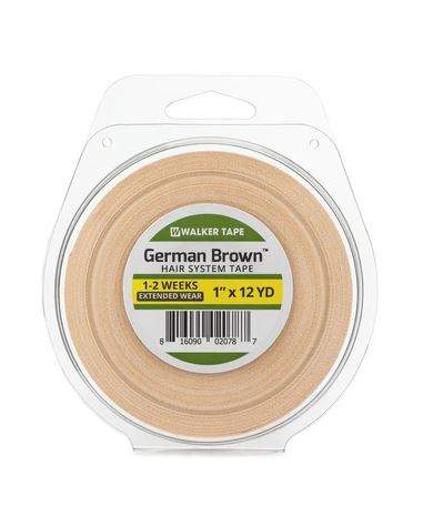 German Brown Double-Sided Roll Tape
