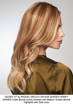 "GILDED 12"" by RAQUEL WELCH 
