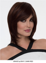Grace Human Hair / HF Synthetic Blend Wig (Mono Top)