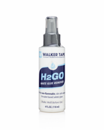 H2Go White Glue Remover for Water Based Glue Adhesive 4oz