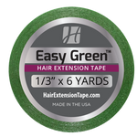 "Easy Green Hair Extension Tape 1/3"" x 6 Yd"