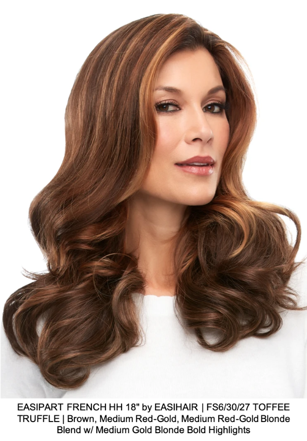 "EASIPART FRENCH HH 18"" by EASIHAIR 