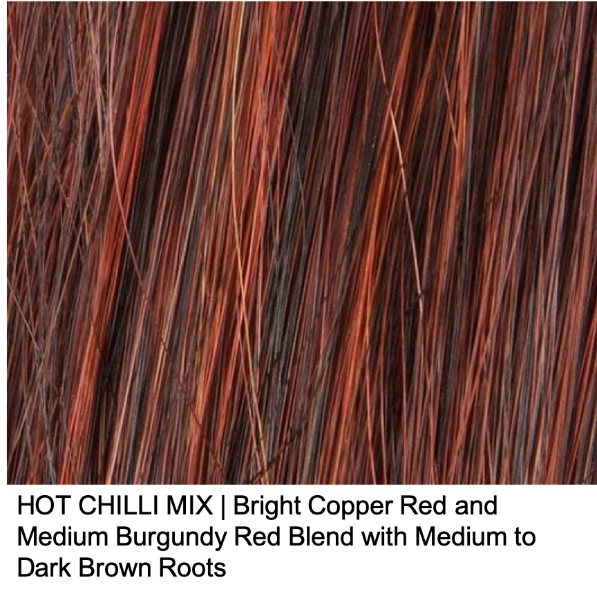 HOT CHILLI MIX | Dark Copper Red, Dark Auburn, and Darkest Brown blend