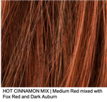 HOT CINNAMON MIX | Medium Red mixed with Fox Red and Dark Auburn