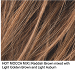 HOT MOCCA MIX | Reddish Brown mixed with Light Golden Brown and Light Auburn