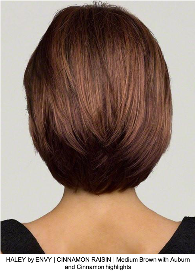 HALEY by ENVY | CINNAMON RAISIN | Medium Brown with Auburn and Cinnamon highlights