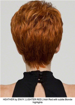 HEATHER by ENVY | LIGHTER RED | Irish Red with subtle Blonde highlights