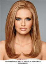 High Fashion Remy Human Hair Lace Front Wig (Hand-Tied)