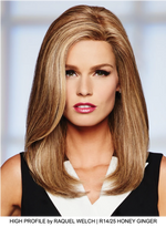 High Profile Lace Front Human Hair Wig (Mono Top)