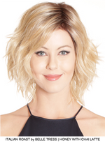 Italian Roast Synthetic Lace Front Wig