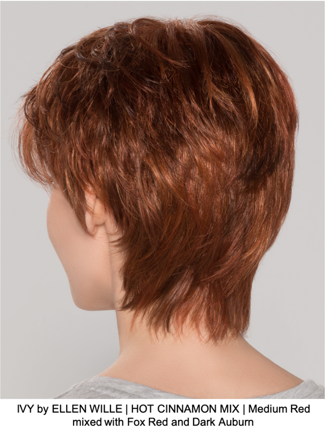 IVY by ELLEN WILLE | HOT CINNAMON MIX | Medium Red mixed with Fox Red and Dark Auburn