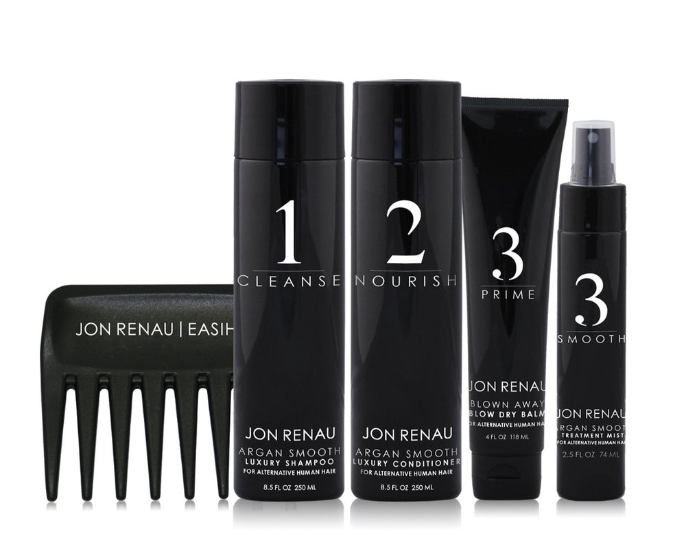 Jon Renau Argan Smooth Human Hair Kit