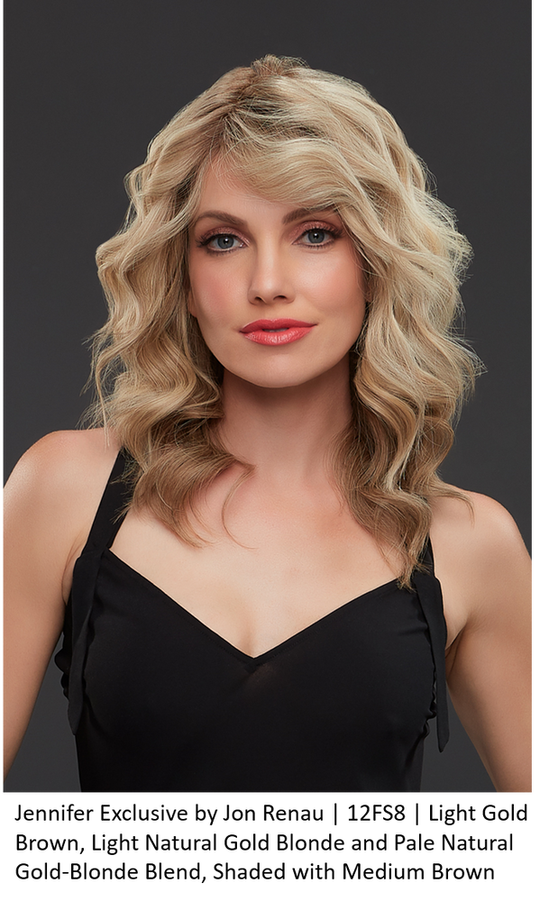Jennifer Exclusive Remy Human Hair Lace Front Wig (Hand-Tied)