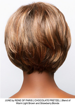 JUNE by RENE OF PARIS | CHOCOLATE PRETZEL | Blend of Warm Light Brown and Strawberry Blonde