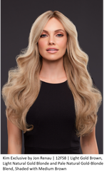 Kim Exclusive Remy Human Hair Lace Front Wig (Hand-Tied)