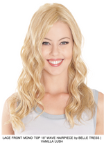 "Lace Front Mono Top 18"" Wave Synthetic Hairpiece"