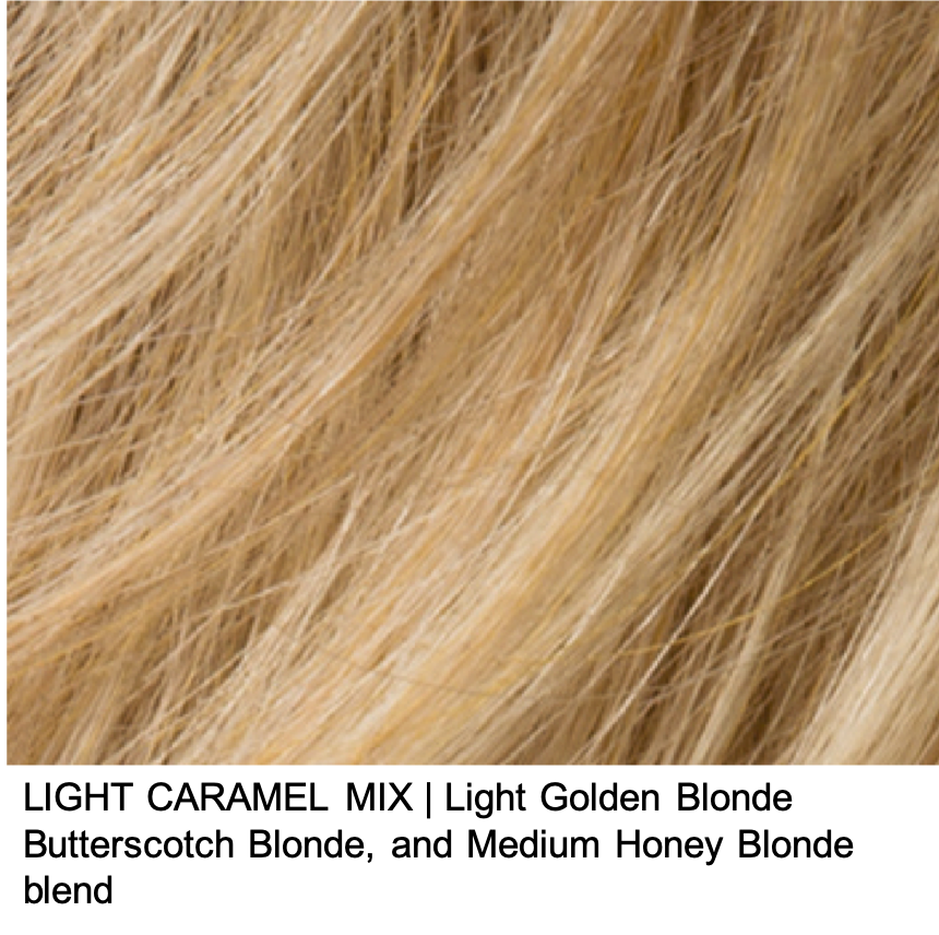 LIGHT CARAMEL MIX | Light Golden Blonde Butterscotch Blonde, and Medium Honey Blonde blend