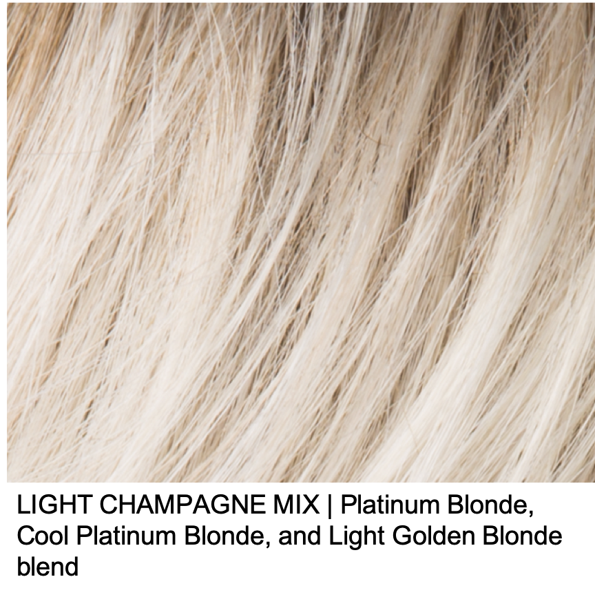 LIGHT CHAMPAGNE MIX | Platinum Blonde, Cool Platinum Blonde, and Light Golden Blonde blend
