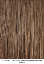 LIGHT CHOCOLATE | Light Brown with Light Reddish Brown highlights