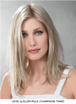 Level Synthetic Wig (Mono Crown)