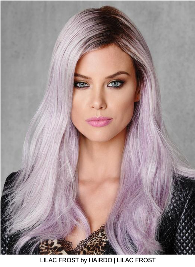 Lilac Frost HF Synthetic Wig (Basic Cap)