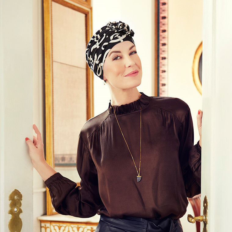 Lotus Turban Printed