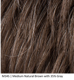 M34S | Medium Natural Brown with 35% Gray