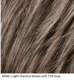 M46S | Light Chestnut Brown with 75% Gray