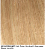 MEDIUM BLONDE | Soft Golden Blonde with Champagne Blonde highlights