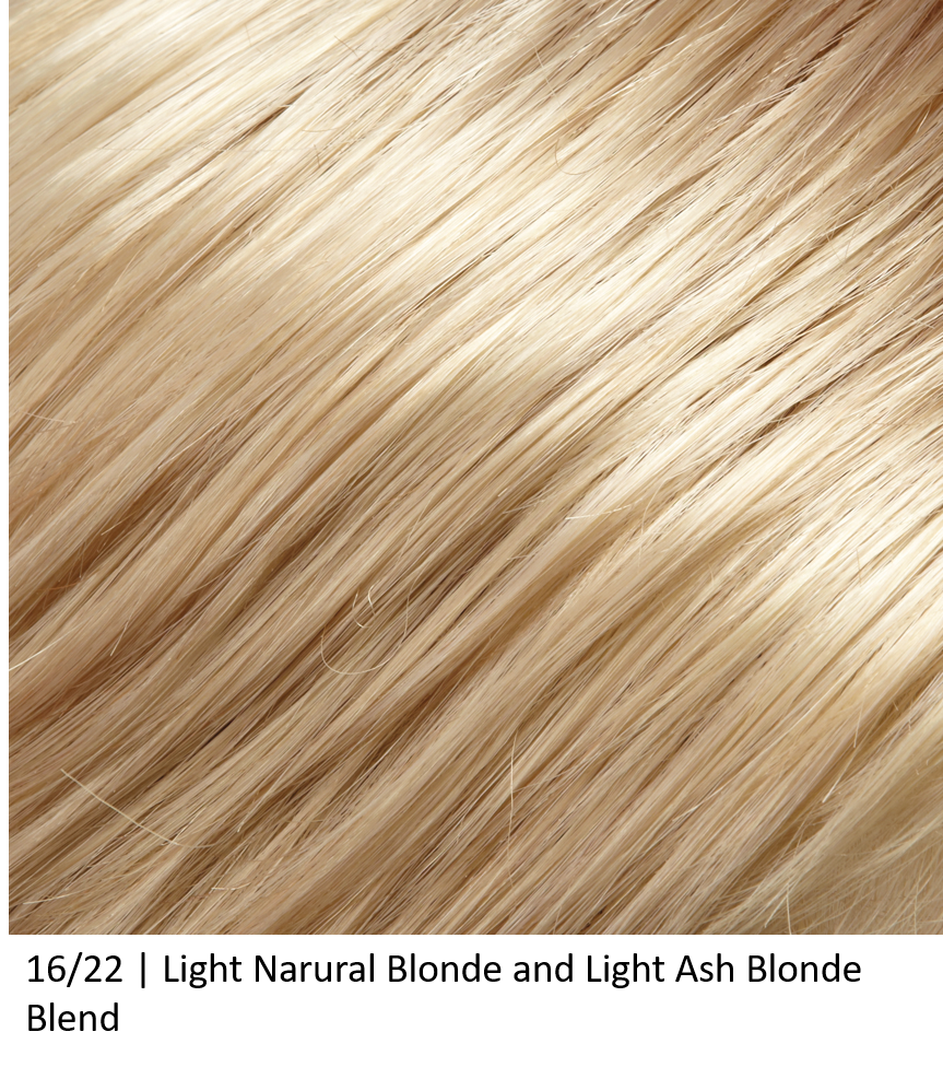 16/22 | Light Narural Blonde and Light Ash Blonde Blend