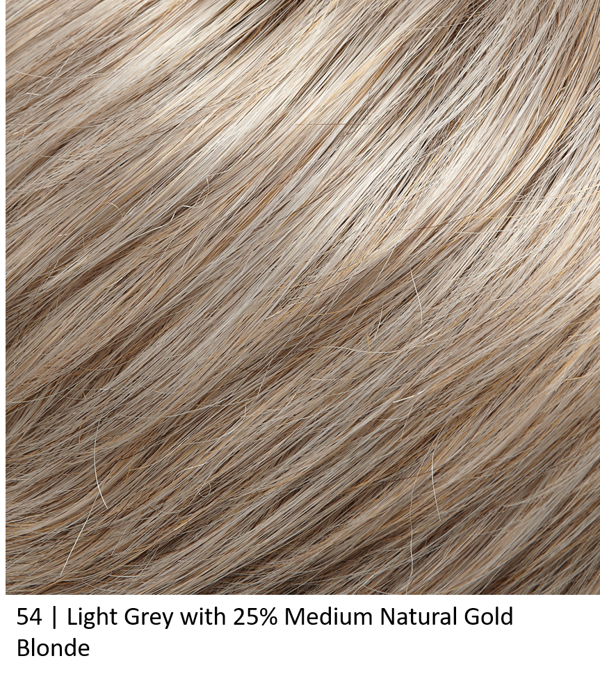 54 | Light Grey with 25% Medium Natural Gold Blonde