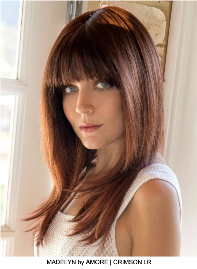 Madelyn Synthetic Wig (Mono Top)